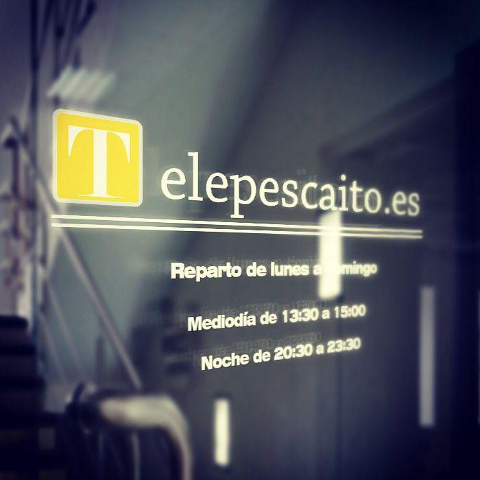 Reparto diario a mediodía y de noche http://www.telepescaito.es #Sevilla