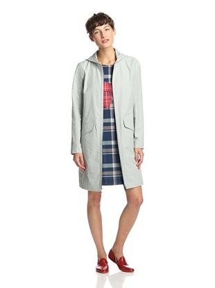 50% OFF Kate Spade Saturday Women's Hooded Coat (Pale Grey)
