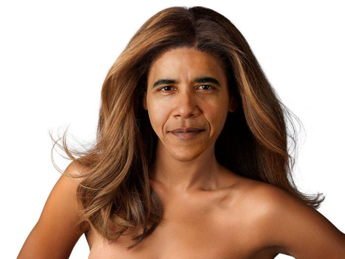 Celebrity Gender Swap Photos: Beyonce Obama