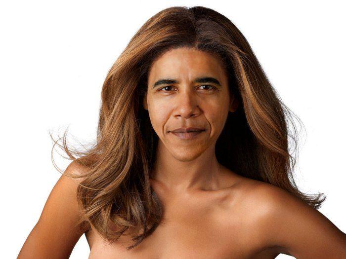 Celebrity Gender Swap Photos: Beyonce Obama