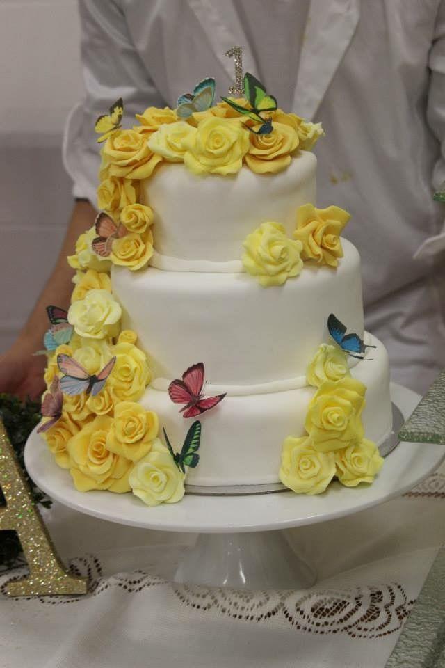 Thea's bday cake By:julius & tanya