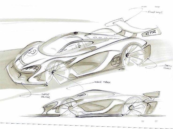 Best Sketches Supercar Images On Pinterest Car Sketch