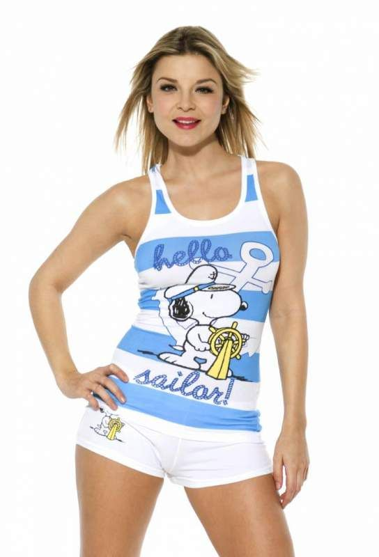 snoopy clothes for women   Snoopy Sailor blue and white ...