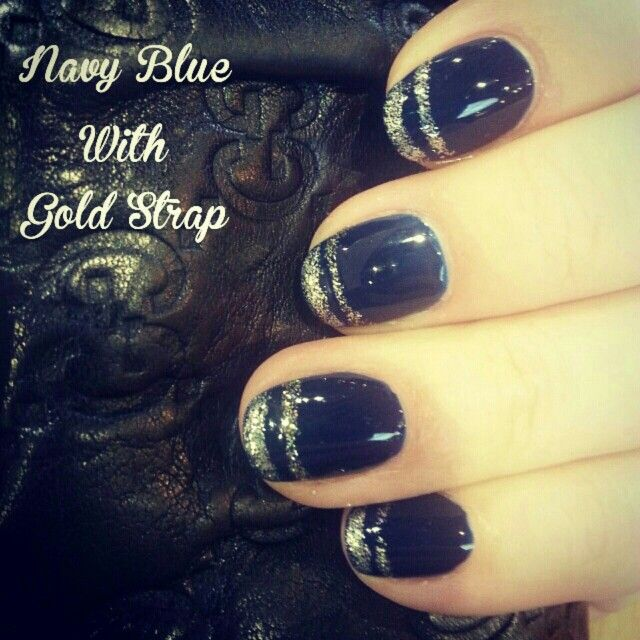 Navy Blue With Gold Strap By J.C Workshop
