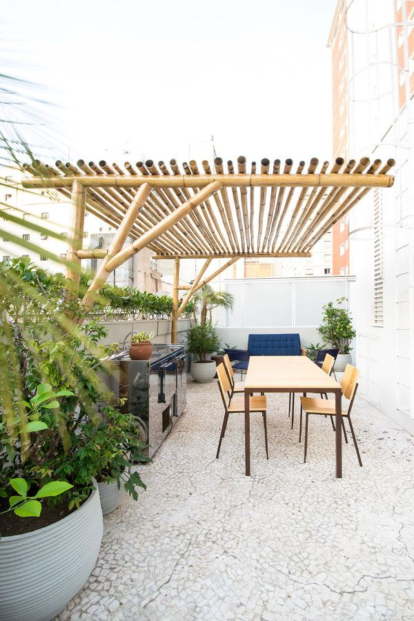 Pergolados Com Bambus Garden Pinterest Patio Pergola And