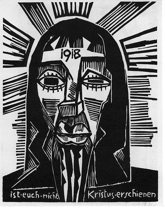 German Expressionist Woodcuts: Karl Schmidt-Rottluff, (German, 1884-1976)