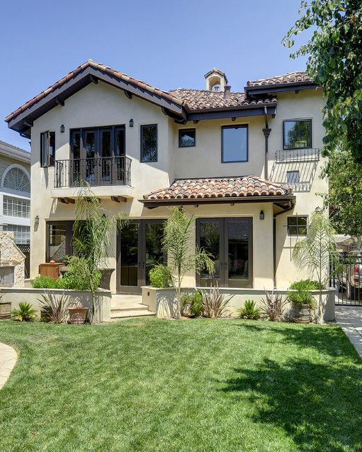 Willow glen spanish style house mediterranean exterior san for Spanish style exterior