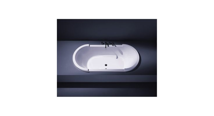 700009000000000 Duravit  Duravit Starck Badekar for innbygging 1800x800 mm, Ovalt