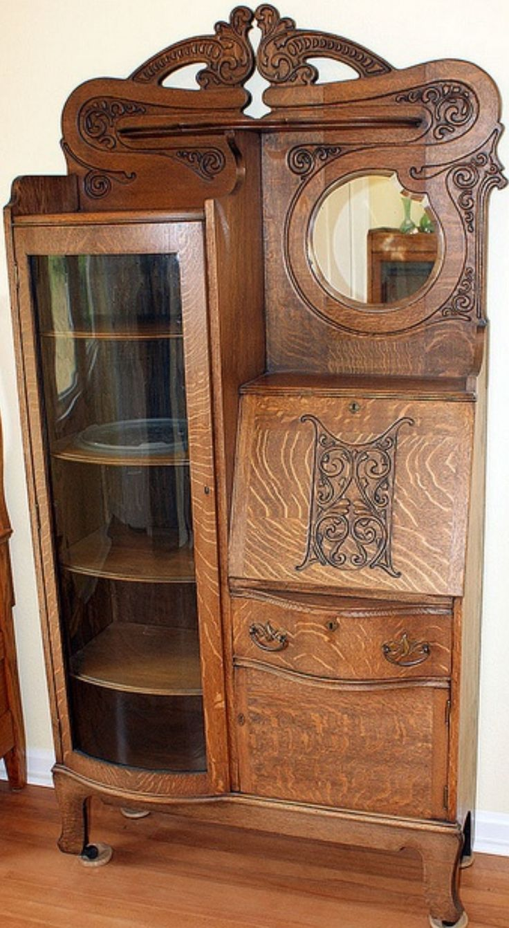 34 Best Images About Antique Oak Furniture On Pinterest