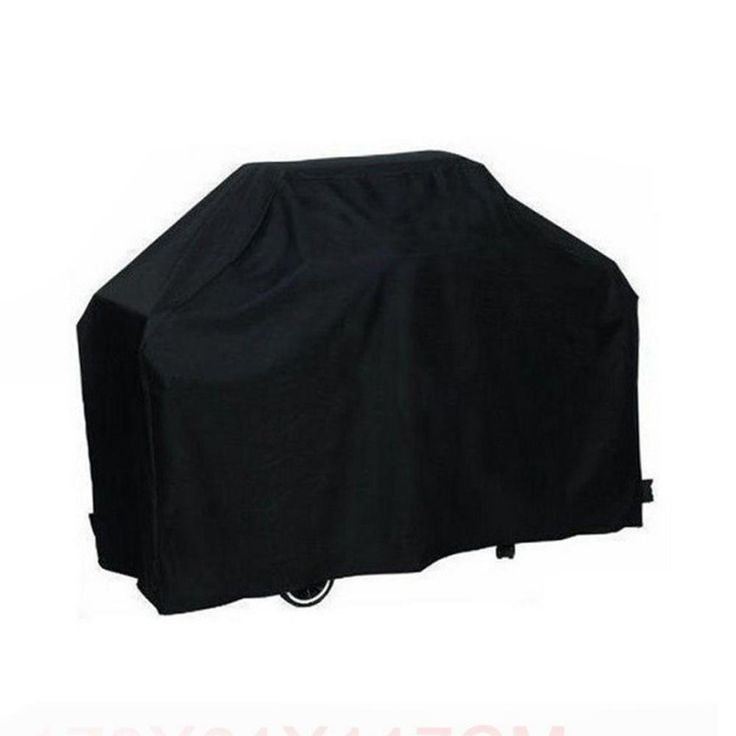 XinNing Black Waterproof BBQ Cover Gas Grill Cover UV Protection Dust Proof  BBQ Cover Gas Barbecue