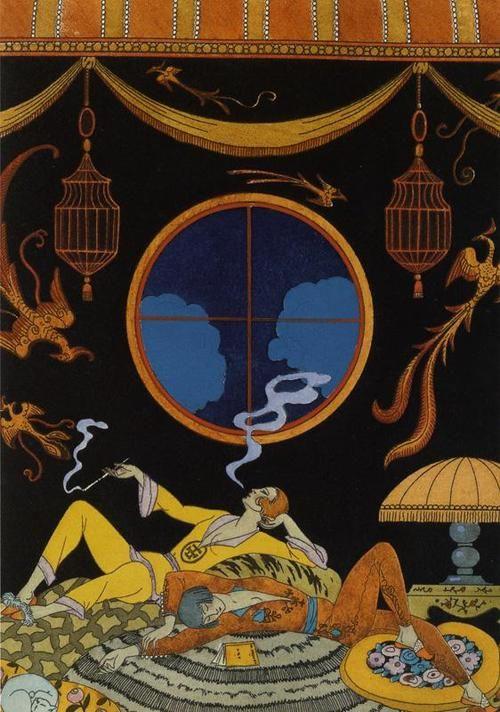 La paresse - Georges Barbier 1925