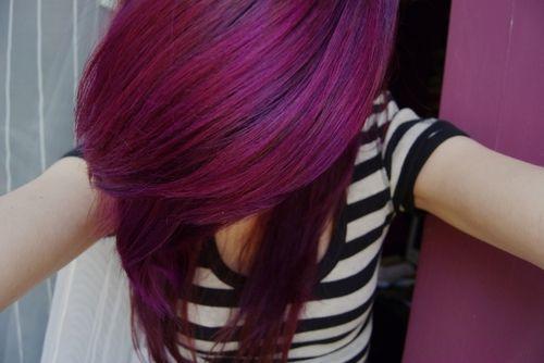red and purple hair tumblr wwwpixsharkcom images