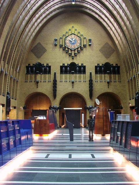 Utrecht's beautiful post office, soon to close.
