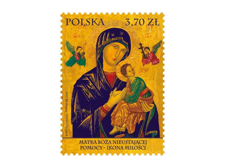 COLLECTORZPEDIA Mother of God of the Incessant Help - Icon of Love