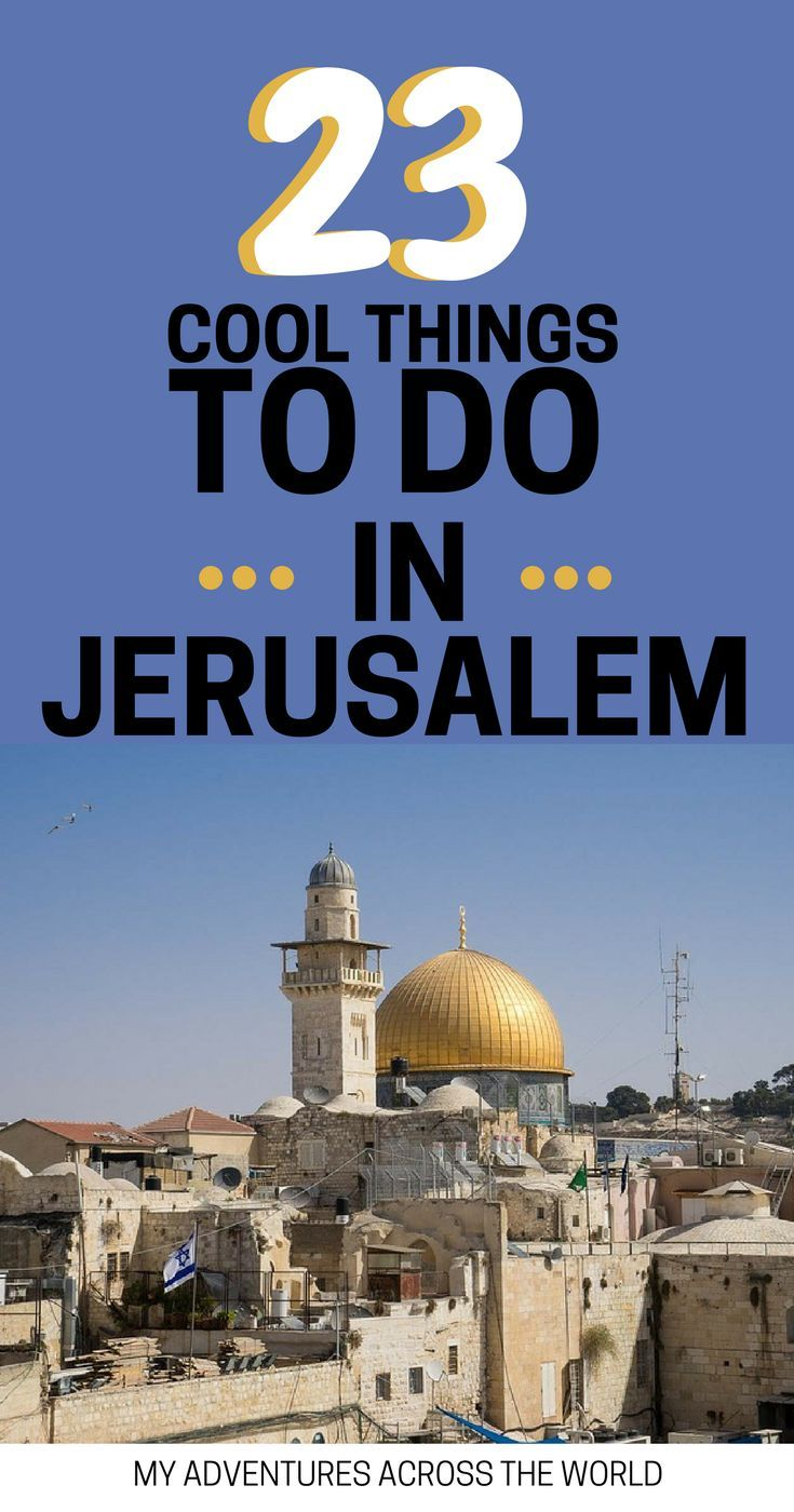 The best things to do in Jerusalem + Jerusalem off the beaten path. A list of traditional and unusual things to do in Jerusalem to have a fantastic time in this amazing city. | What to do in Jerusalem Israel | Jerusalem travel guide | Jerusalem travel tip