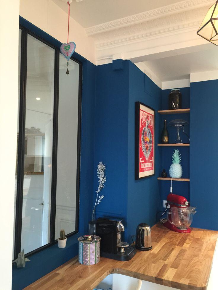 Our blue kitchen