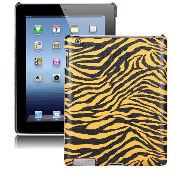 Zebra Fashion (Gul) iPad 2 Deksel