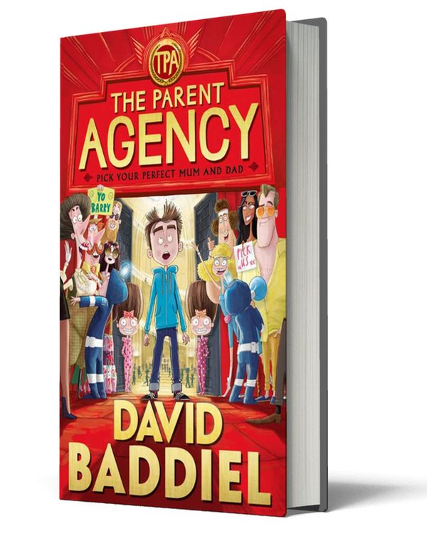The Parent agency- David Baddiel | booksandbrooches