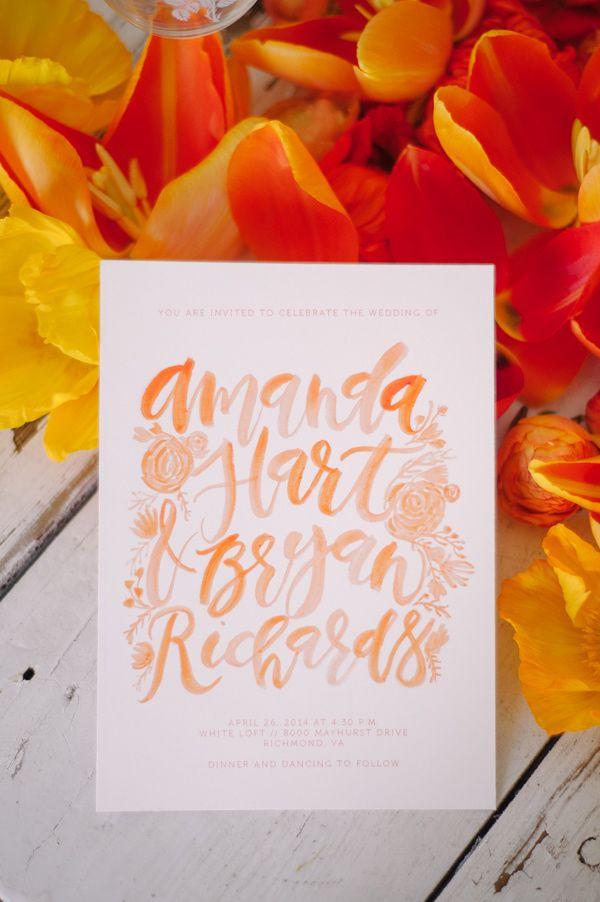 Orange Crush Wedding Ideas 436 best Invitations