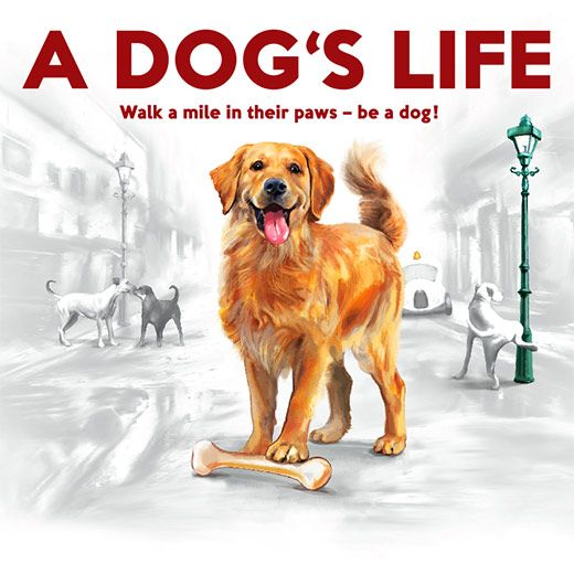 Support this amazing game! It's amazingly fun for all dog lovers and especially with children!