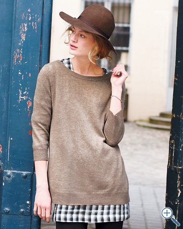 Oversized Boatneck Sweater (love for fall with a short skirt and tights)