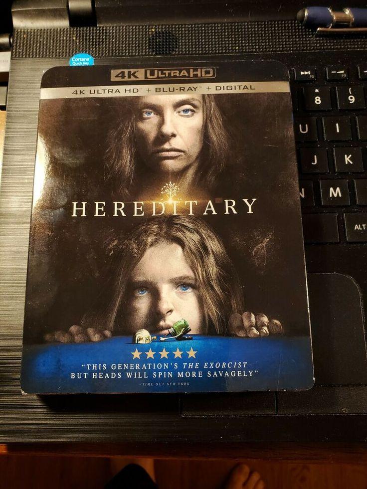 Hereditary 4k Uhd Blu Ray Digital 2018 W Oop Rare Slipcover Ultra Hd New Lionsgate Ultra Hd Digital Blu Ray
