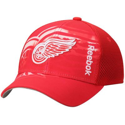 Detroit Red Wings Youth Second Season Adjustable Hat - Red