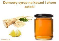 Chrzanowo-miodowy syrop na chore zatoki, katar, brak apetytu i wzmocnienie odporności