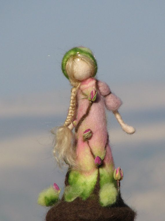 Hey, I found this really awesome Etsy listing at https://www.etsy.com/listing/190603669/waldorf-inspired-needle-felted-rose-doll