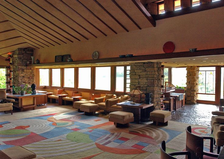 Frank Lloyd Wright buildings nominated for UNESCO World Heritage List by US.  I'm in favor.  Here, Taliesin.