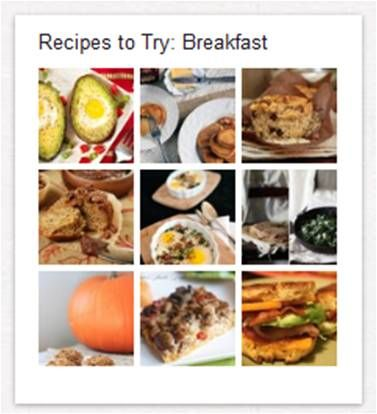 """""""Recipes To Try"""" from Paleo Parents. Links to their various Pinterest pages."""