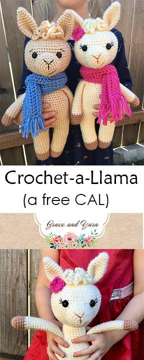 Crochet A Llama CAL