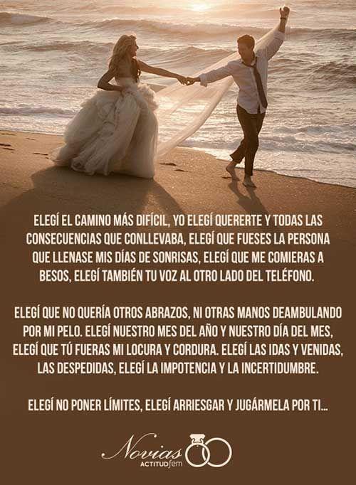 Votos matrimoniales creativos | ActitudFEM