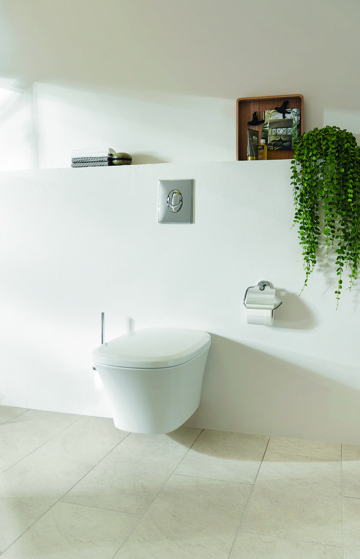 Bathroom and toilet accessories - The Healthy Simplicity Of Eurostyle Cosmopolitan S Curves Translates Well To Ceramics And Accessories For A Bathroom With Wellbeing At Its Heart Toilet