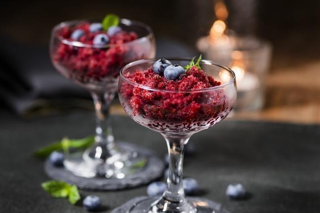Blåbærgranité antioksidantsjokk! Det skal mye til for at du finner en sunnere og bedre dessert enn dette!