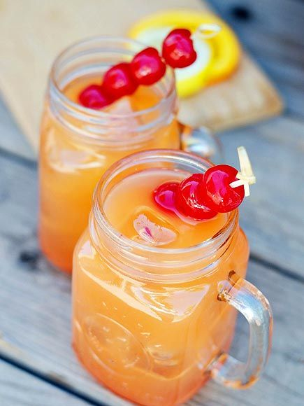 One, Two, Punch! The Best Big-Batch Cocktails for a Party   COCONUT RUM PUNCH   Want to inject some sunny Caribbean vibes into your party? Try this tropical punch from A Night Owl Blog and you'll forget all about that howling blizzard outside.