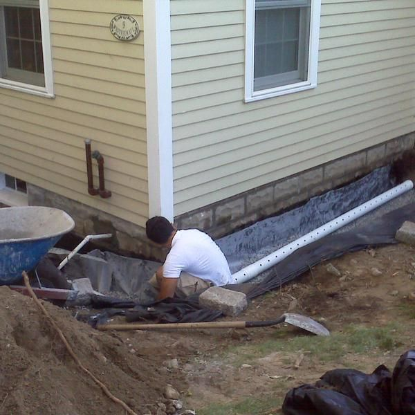 Best 25+ French Drain System Ideas On Pinterest