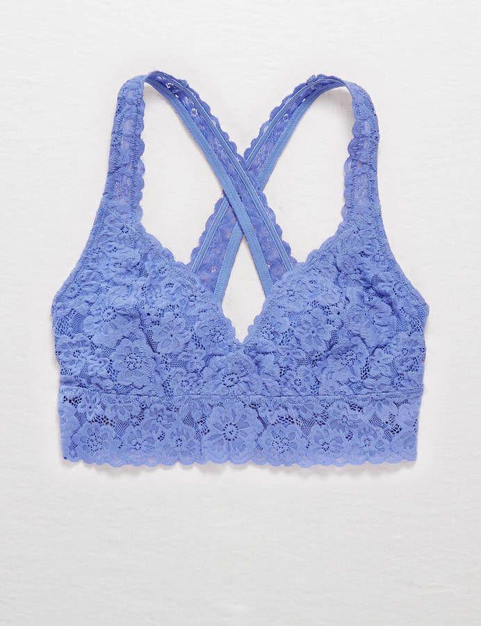 dc72f9b612705 Aerie Lace Cross-Back Bralette