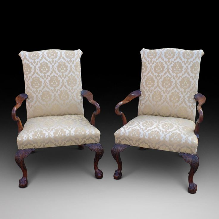 A fine pair of Gainsborough Armchairs | Looking For Antiques - 68 Best Looking For Antiques Chairs Images On Pinterest Antique