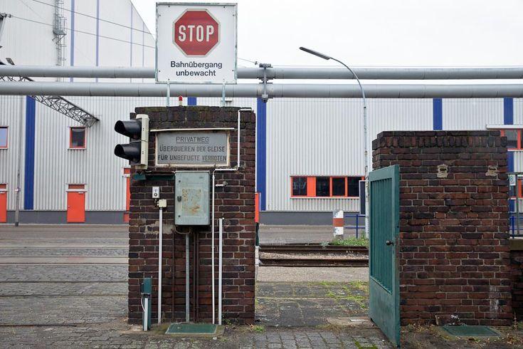 Mannheim - Entrée batiment industriel