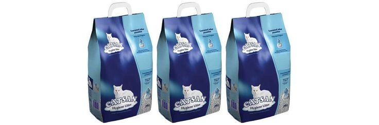 3 x 20L Catsan Hygiene Non-Clumping Cat Litter Multibuy -- Check out the image by visiting the link. #CatLitterandHousetraining