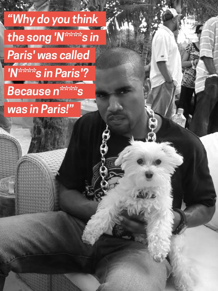 How about 'doggies' in Paris?  http://bowwowtimes.com/2015/01/11-dogs-understand-kanye-kanye/