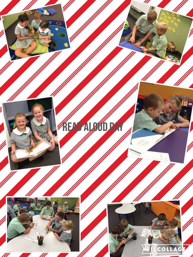 Last week we celebrated Read Aloud Day with our wonderful buddies!!!