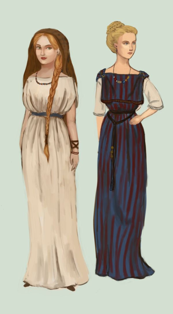Roman Gaul by Tadarida After Roman invasion in about 50 BC, Gallic women started adopting some fashions of Rome.