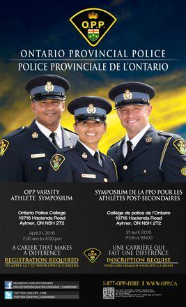 Ontario Provincial Police   Careers