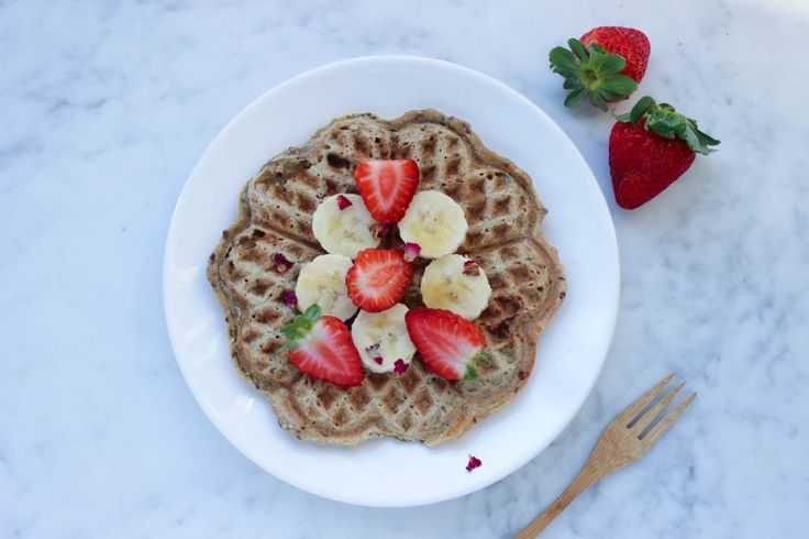 I Love Health | Banaan havermout wafels | http://www.ilovehealth.nl