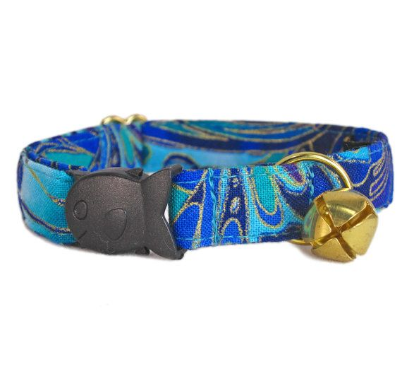 Hey, I found this really awesome Etsy listing at https://www.etsy.com/listing/220862551/breakaway-kitten-collar-blue-kitten