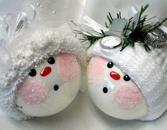 Handmade crafts for Christmas photo.