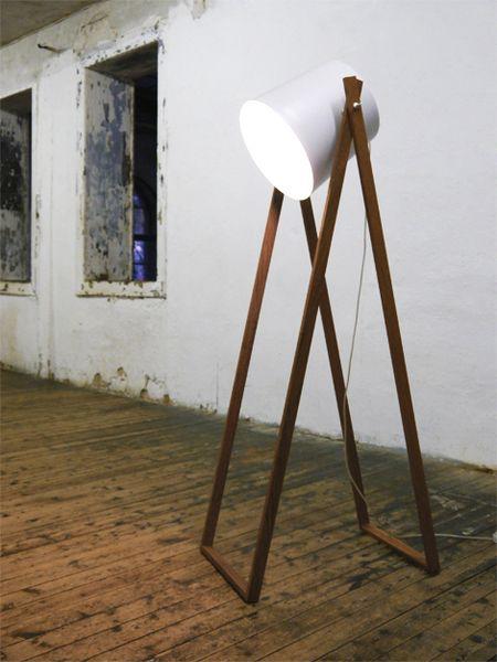 """Stehleuchte """"Studio 360°"""" von Von_hier_für_jetzt auf DaWanda.com"""