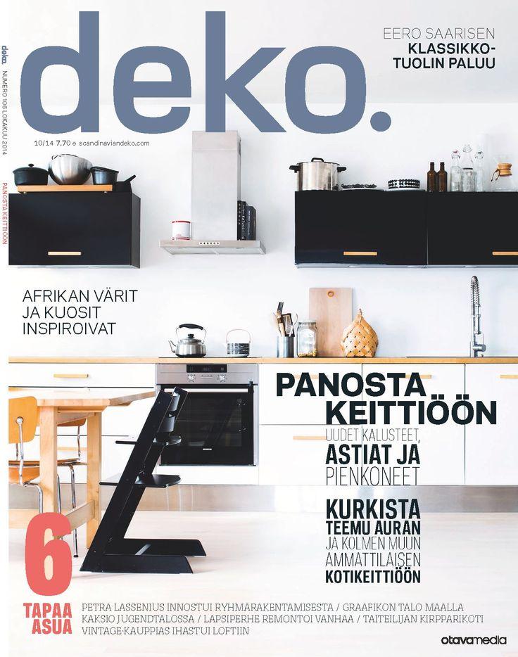 DEKO'S PRINT MAGAZINE 10 14 OUT NOW!